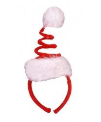 Рождественский колпак-пружинка