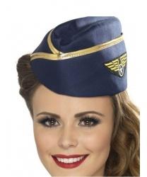 Пилотка стюардессы с эмблемой