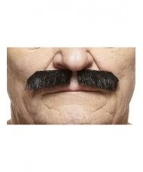 Черные усы карандаш
