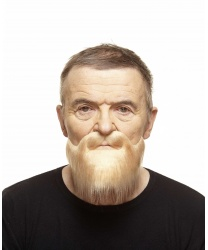 Светло-русая борода с усами
