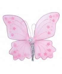Крылья бабочки 34 х 42 розовые