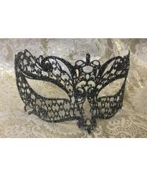 Венецианская серебряная маска Brillina