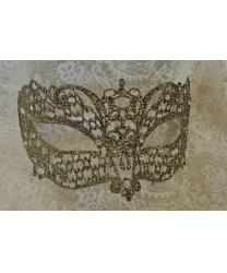 Венецианская золотая маска Brillina