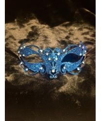 Венецианская голубая маска Ninfea