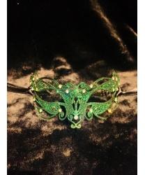 Венецианская зеленая маска Ninfea