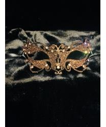 Венецианская бронзовая маска Ninfea