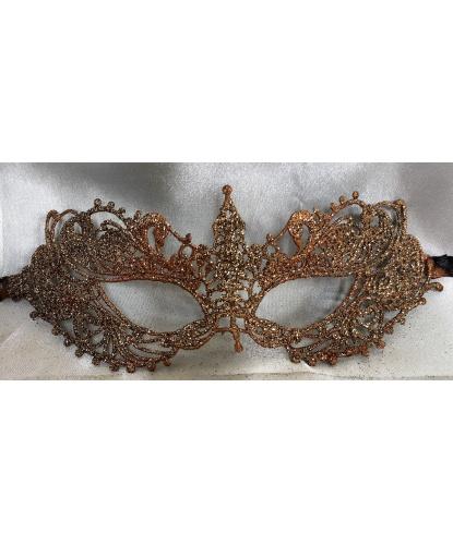 Кружевная маска Filo eifel, золотая, кружево (Италия)