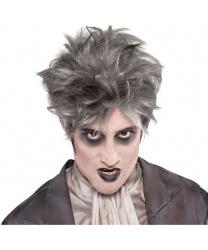 Мужской парик Зомби из склепа: серый (Германия)