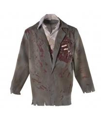 Мужской пиджак Зомби из склепа: пиджак со вшитой рубашкой, галстук (Германия)