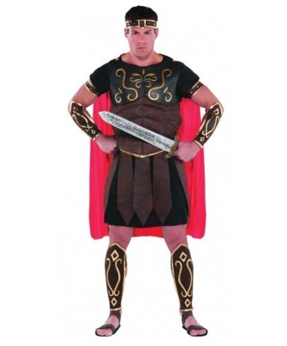 Мужской костюм Центурион: накидка, туника, жилет, накладки на руку и на ноги, головной уб (Германия)