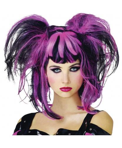 Черно-розовый парик: розовый, черный (Германия)