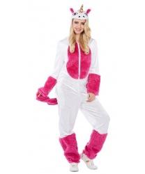 """Женский костюм """"Бело-розовый единорог"""""""