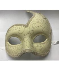 Ассиметричная маска, молочная