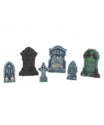 Набор надгробий на Хэллоуин (6 шт)