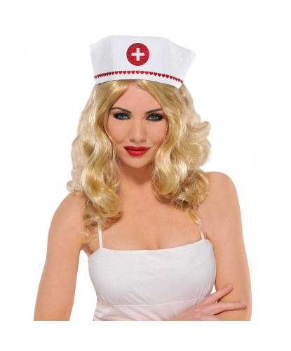 Чепчик медсестры в сердечках (Германия)