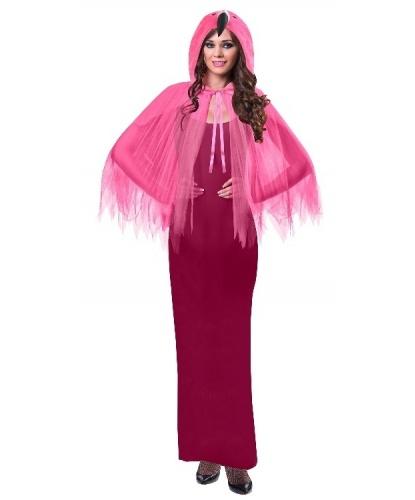 Розовая накидка Фламинго: накидка с капюшоном (Германия)