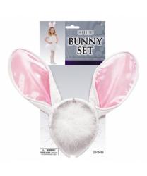 Детский набор белого кролика