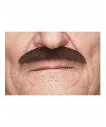 """Усы """"Кисть художника"""" темно-коричневые"""