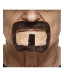 Бородка с усами, темно-коричневая