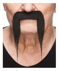 Длинные усы изогнутые вниз