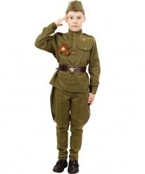 Костюм солдата с брюками галифе