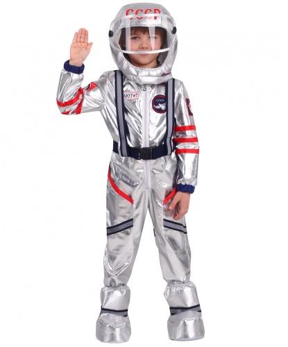 Костюм астронавта космолета Союз: комбинезон, шлем, накладки на обувь (Россия)