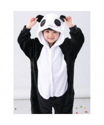Детский кигуруми Панда: комбинезон с капюшоном (Китай)