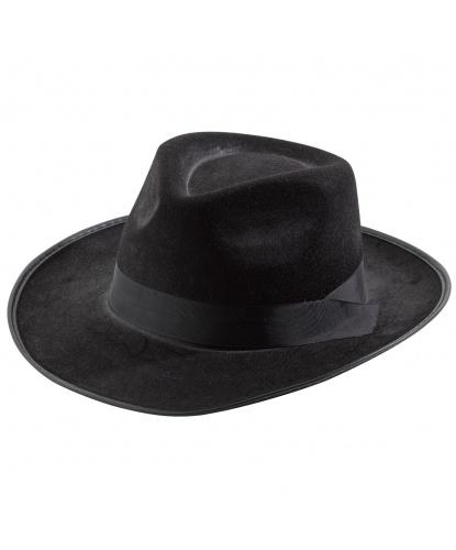 Черная шляпа в стиле 20-х годов (Германия)