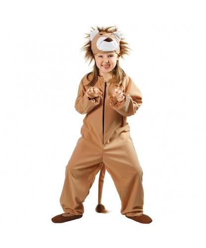 Детский костюм льва: шапка, комбинезон (Польша)
