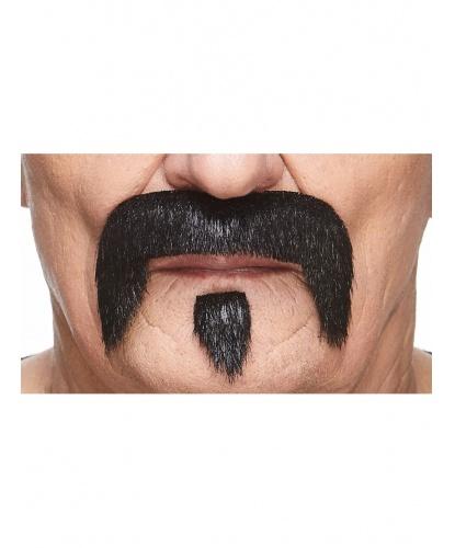 Усы и бородка черные (Литва)