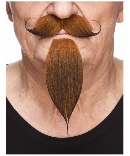 Усы и борода коричневые (Литва)