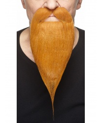 Рыжая борода с усами