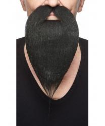 Чёрная борода с усами