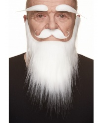 Борода, усы, брови Санта-Клауса