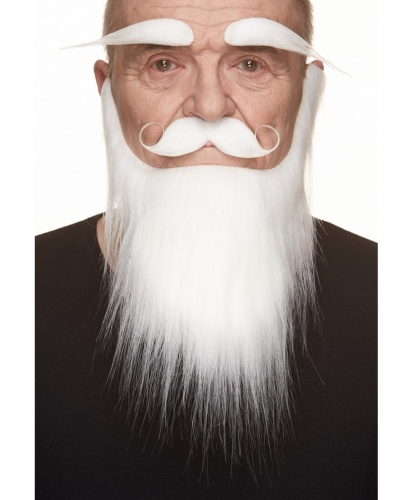 Борода, усы, брови Санта-Клауса (Литва)