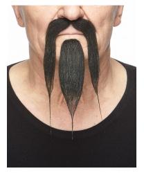 Усы и борода китайца (черные)