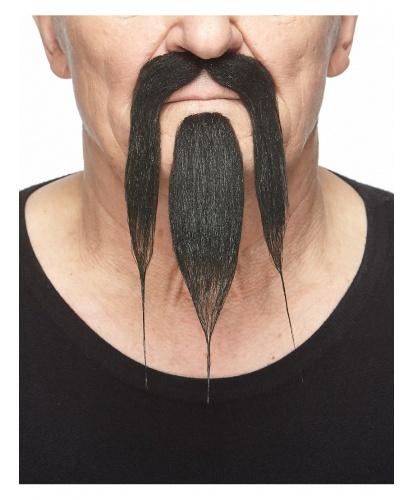 Усы и борода китайца (черные) (Литва)