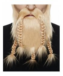 Светло-русая борода викинга