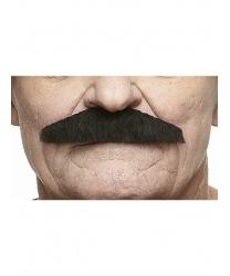 Усы шеврон черные