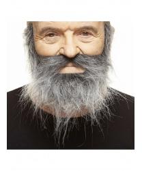 Седая лохматая борода