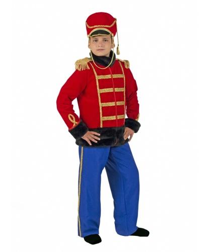 Мужской костюм гусара: брюки, кивер, ментик (Россия)