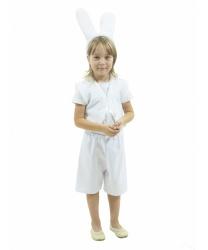 Костюм белого зайчишки