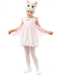 Детский костюм кошечки: головной убор, платье (Россия)