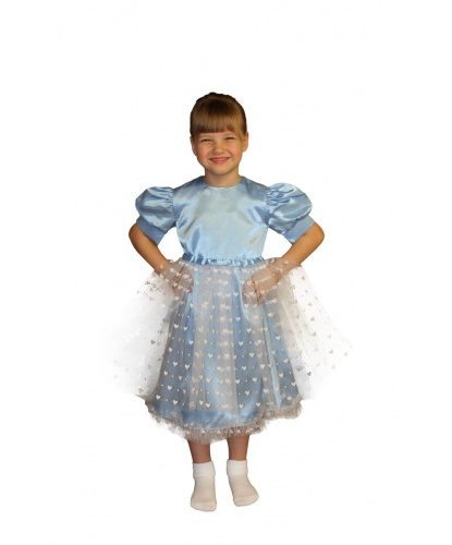Платье принцессы-снежинки: платье (Россия)