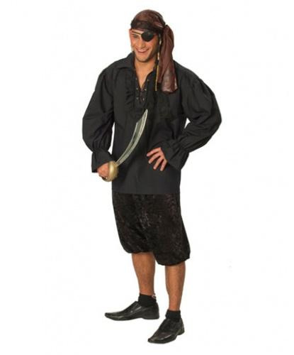 Чёрная пиратская рубаха: рубашка (Германия)