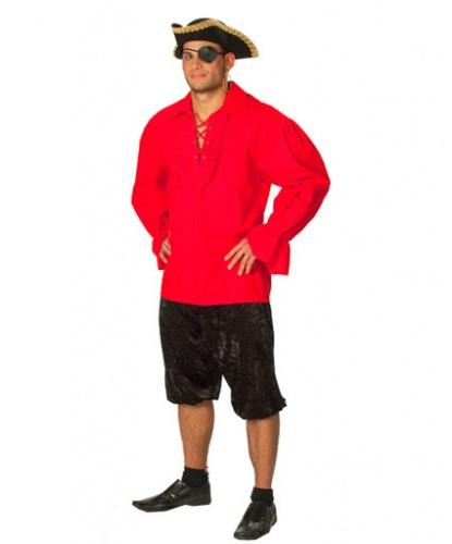 Красная пиратская рубаха: рубашка (Германия)