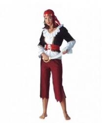 Бриджи и рубашка пиратки