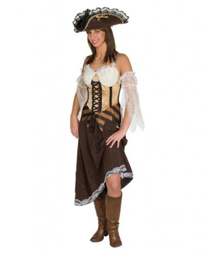 Платье пиратки: нарукавники, платье (Германия)