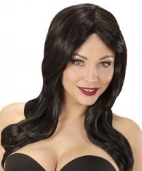 """Черный парик  с челкой """"Lindsay"""""""