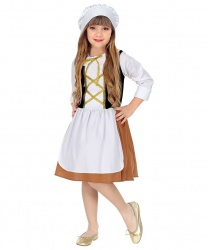 Детский костюм средневековой девочки